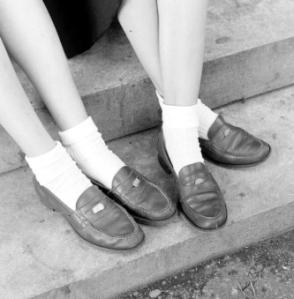 socks-loafers