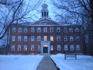 williams college in snow