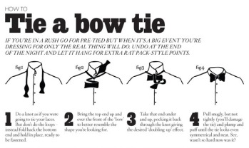 bowtie instructions