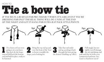 bowtie instructions