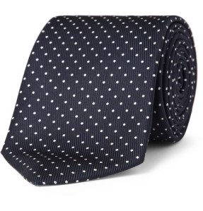 OMB Blog - Swiss Dot Necktie
