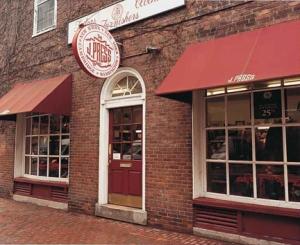 The J. Press Store, Cambridge MA.